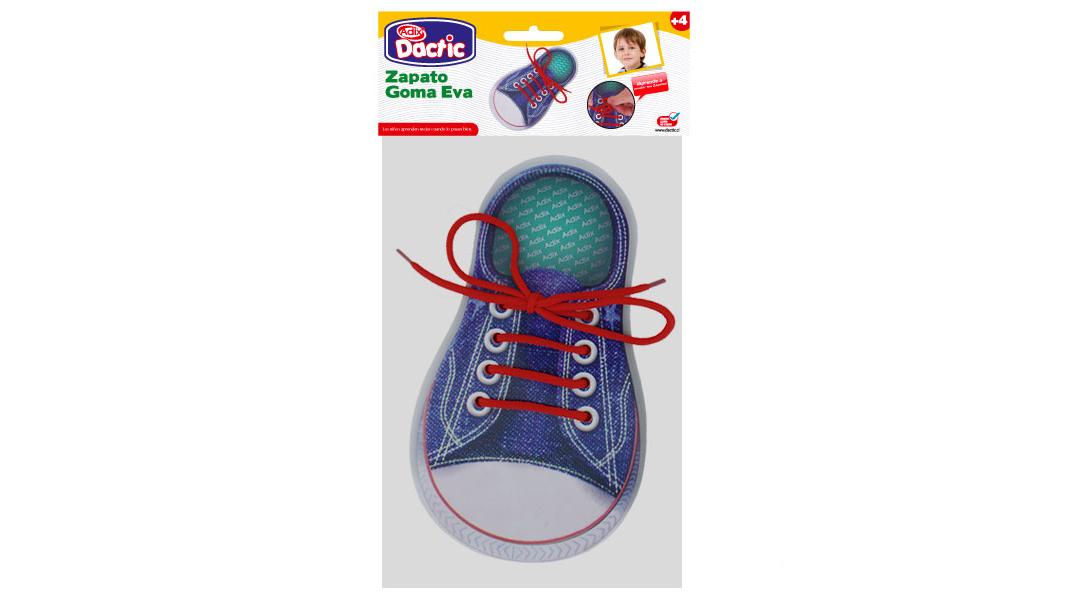 f139c0aa868 Zapato goma eva de aprendizaje - Dactic » Babytuto