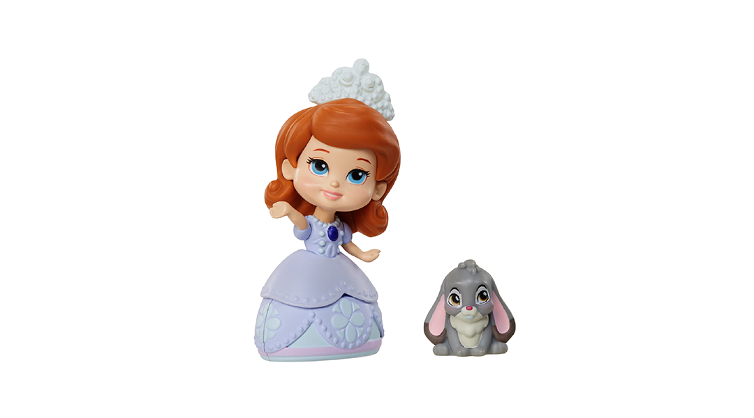 Figuras articuladas miniatura Princesa Sofia - Sofia & Clover ...