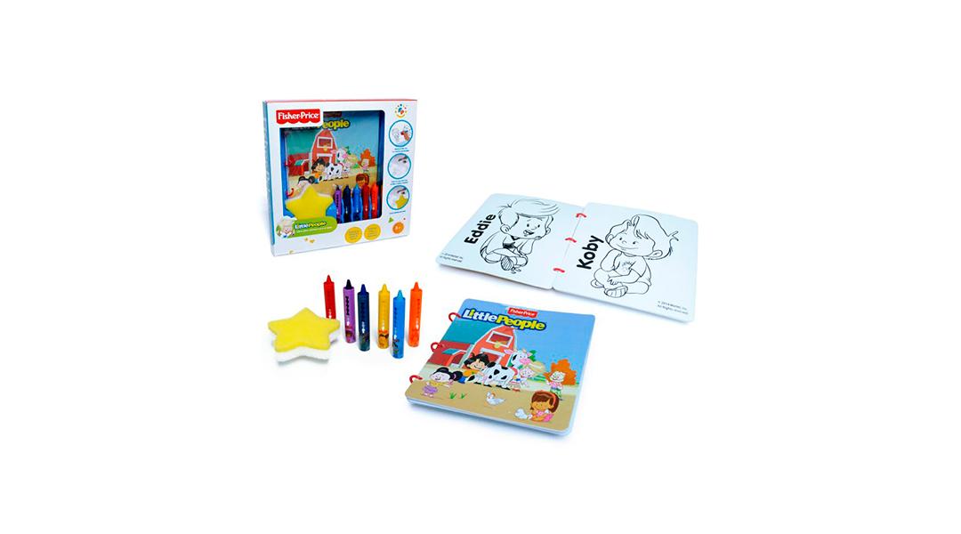 Libro para colorear en el baño - Fisher Price Toys » Babytuto