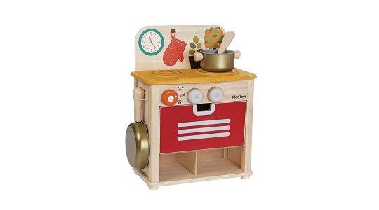 Cocina infantil de madera plan toys babytuto for Cocina infantil madera