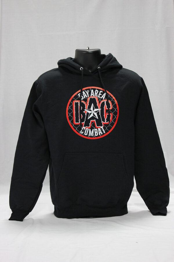 Bay Area Combat star logo hoodie
