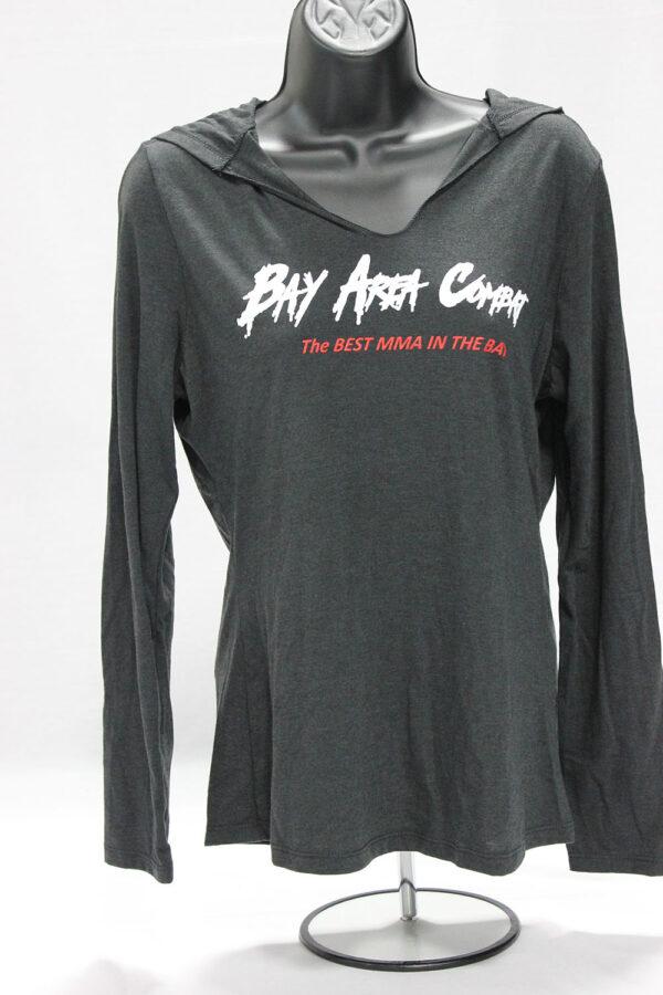 Bay Area Combat Women's Charcoal Hoodie
