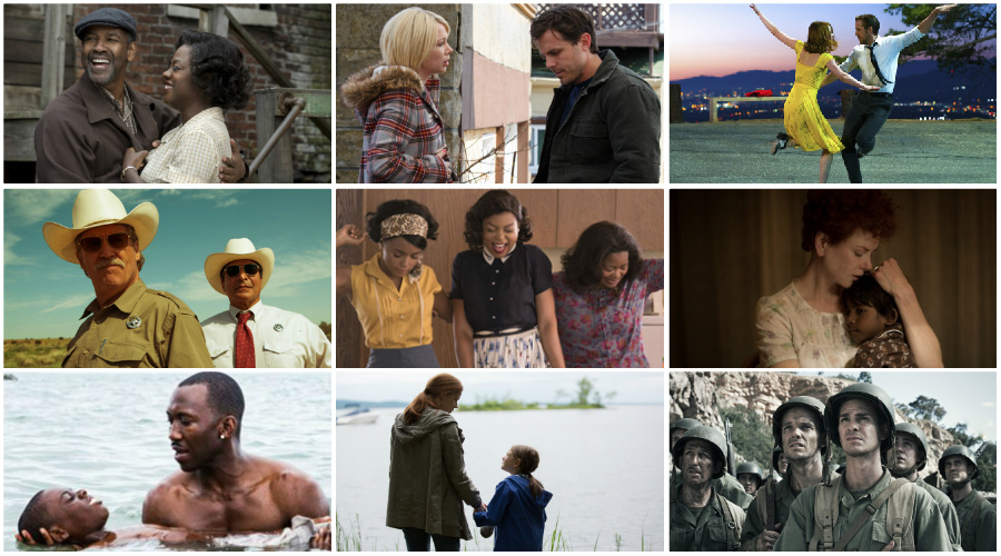 Oscars 2017: Play-at-home ballot