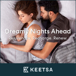 better sleep, better life! KEETSA is answer.