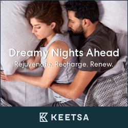 better sleep, better life! KEETSA is answer.