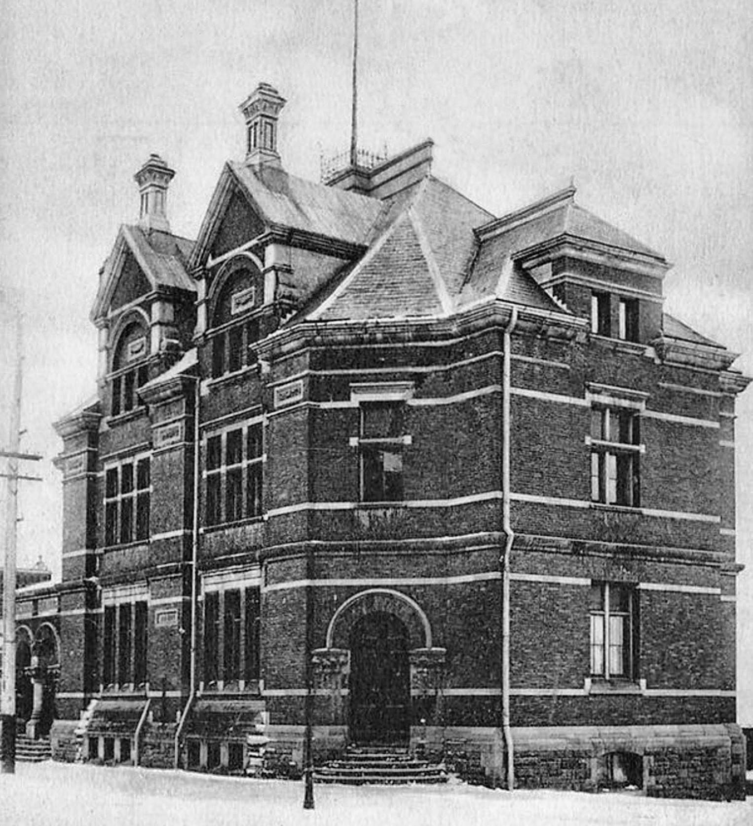 The Post Office Building Before The Addition Of A Clock