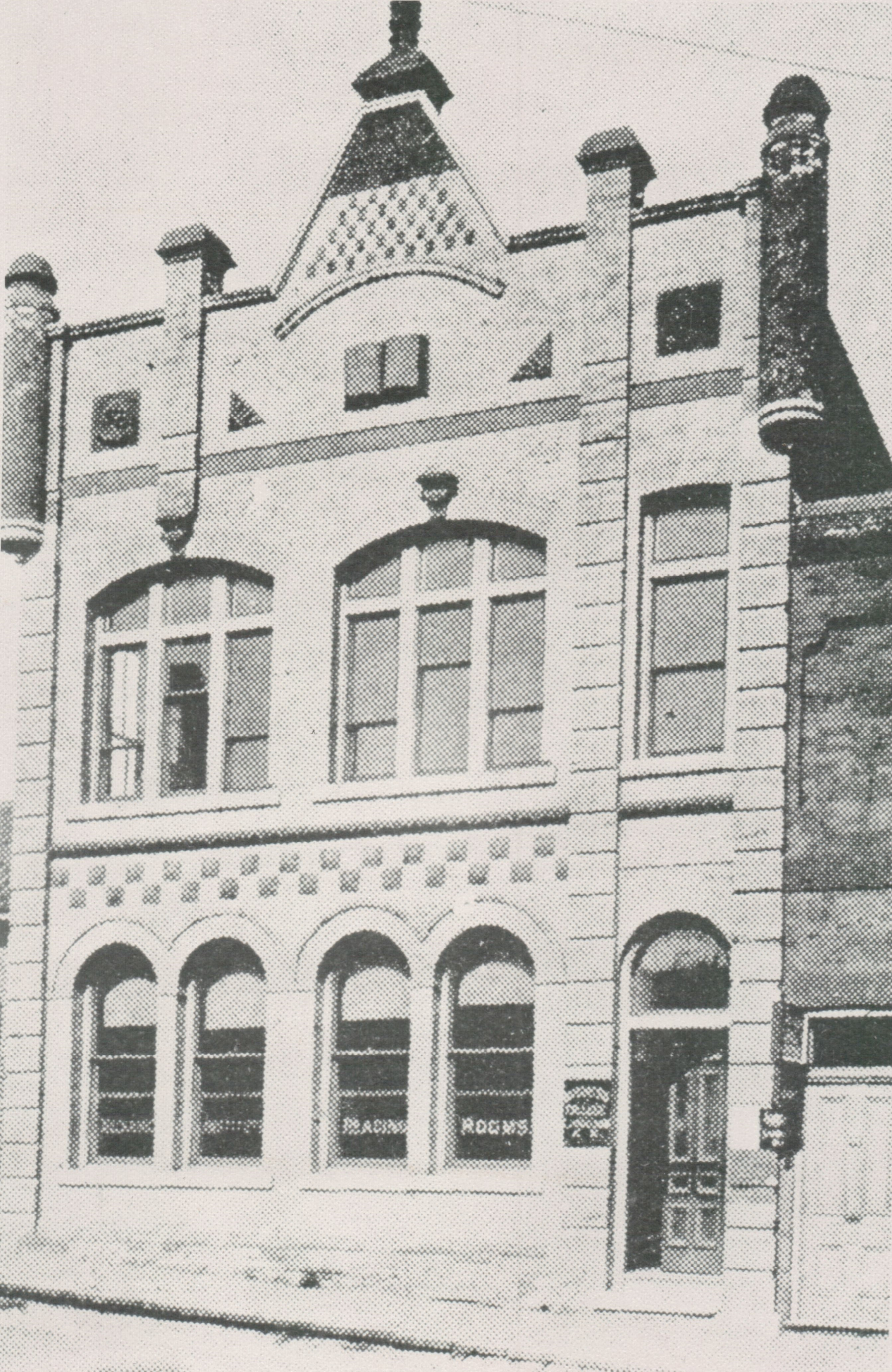 The Mechanics Institute was Barrie's first library system