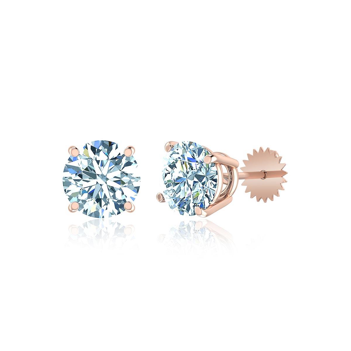 Casa Blanca Diamond Stud Earrings (1/2 CT. TW.)