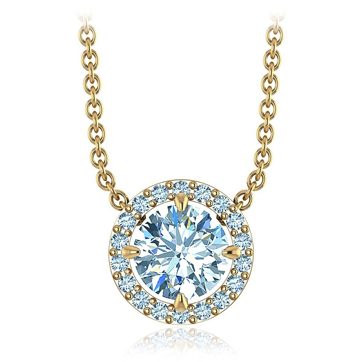 Honesty Diamond Necklace (1/2 CT. TW.)