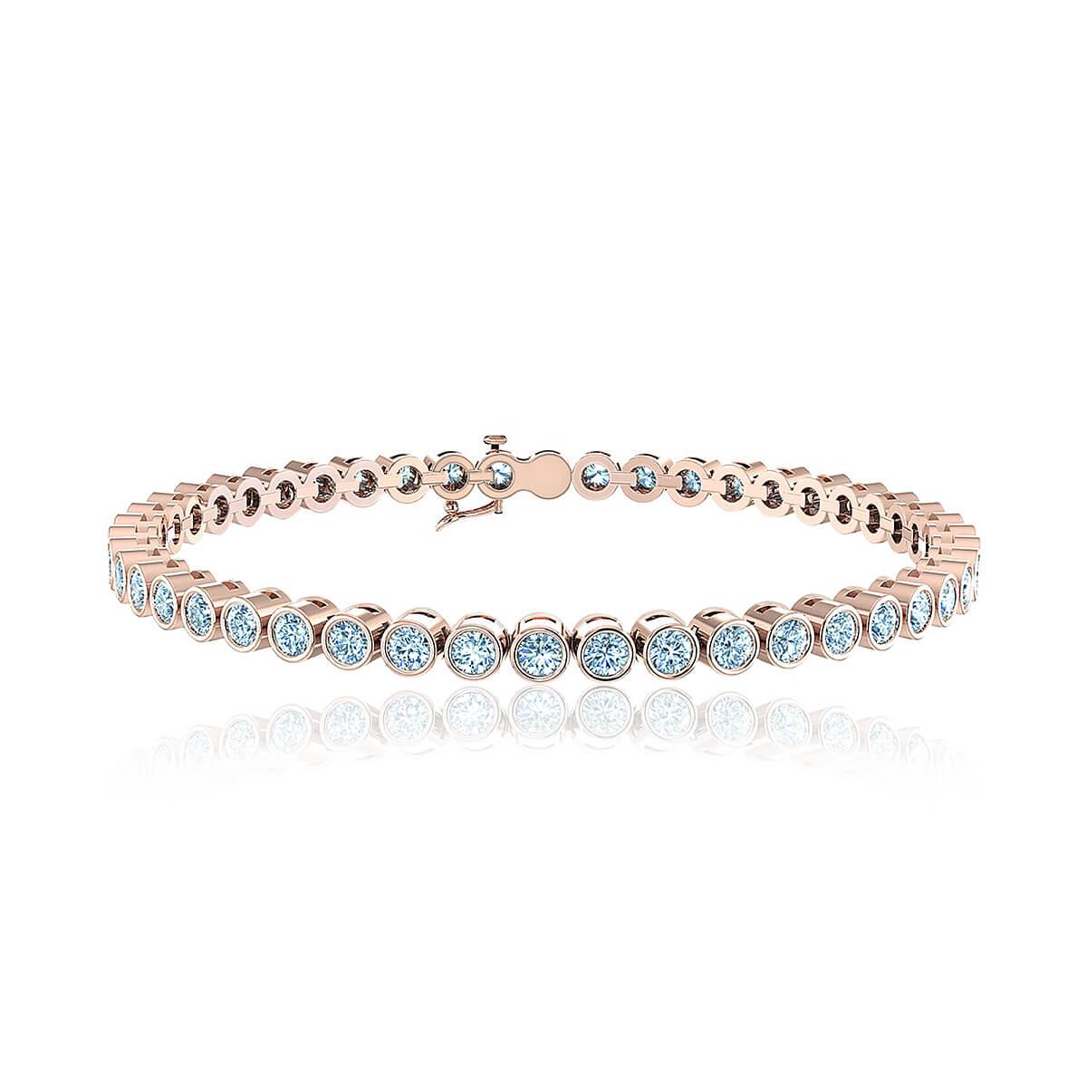 Gaia Goddess Diamond Tennis Bracelet (2 CT. TW.)