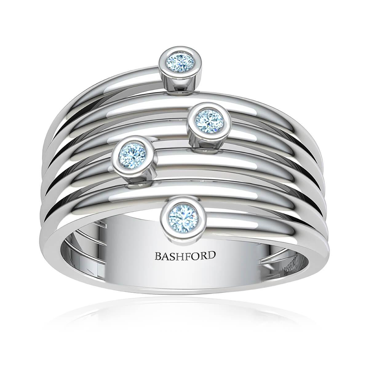 Amyrine Diamond Ring  (5/8 CT. TW.)