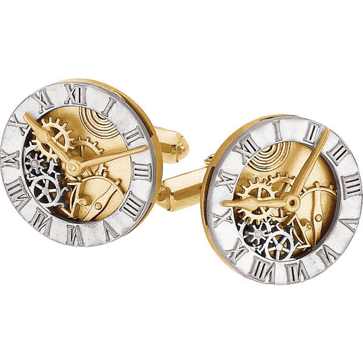 Timepiece Cuff Links