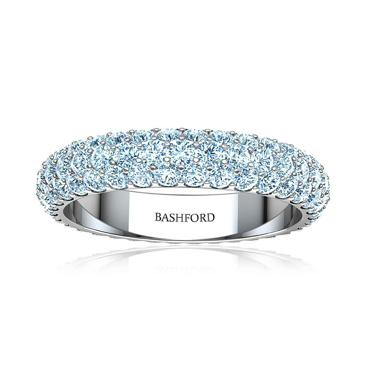 Bordeaux Diamond Ring ( 2 1/2 CT. TW.)