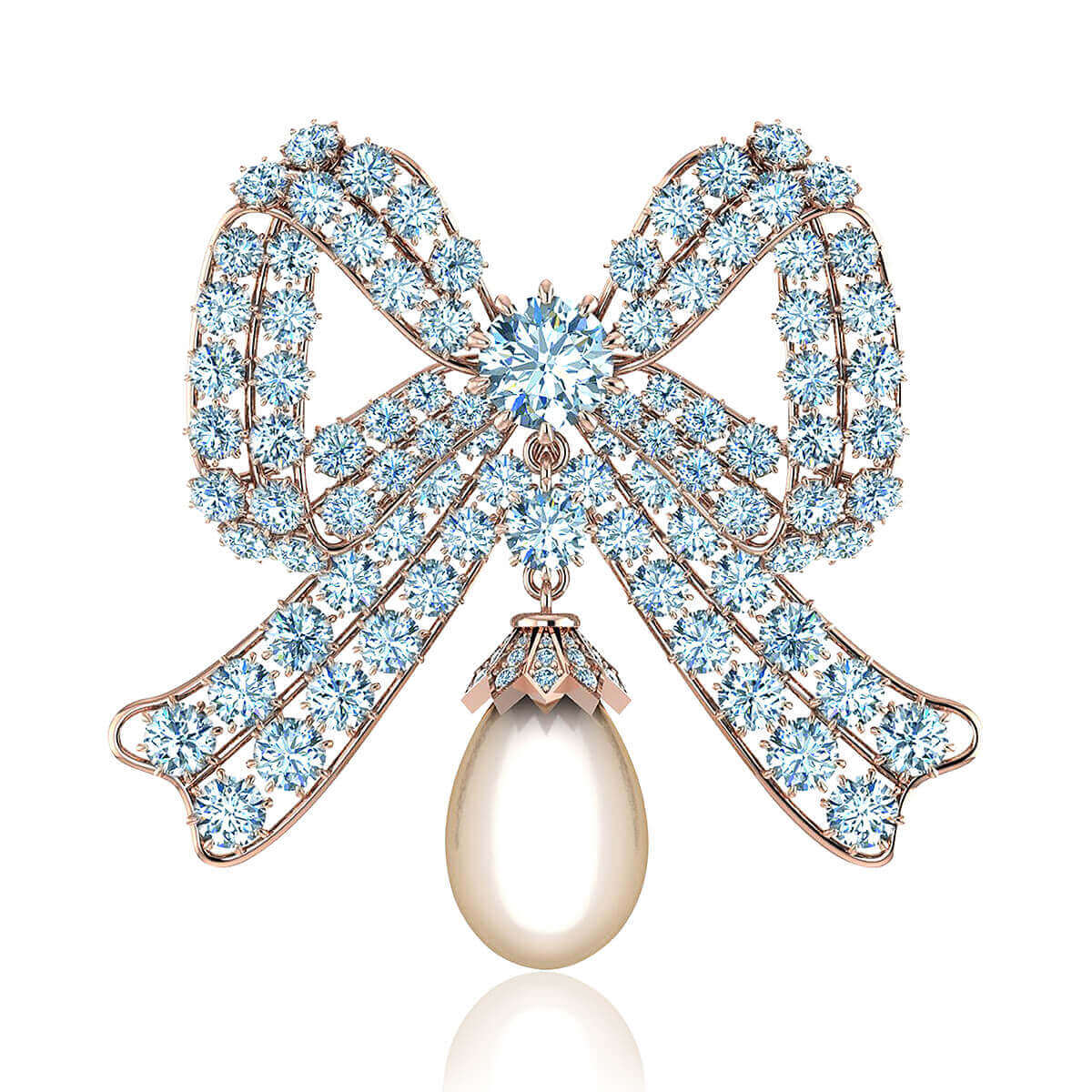 Elizabeth Diamond Brooch (3 CT. TW.)