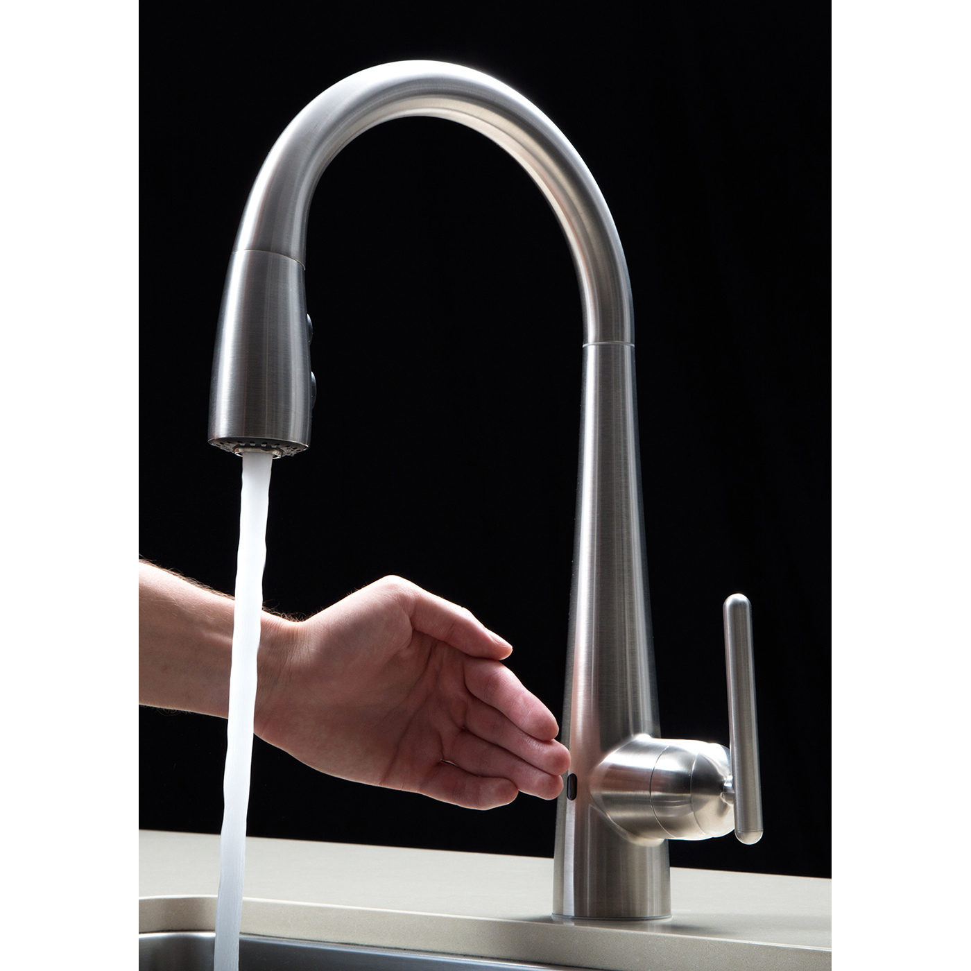 Bath4All - Pfister GT529ELS Lita React Touchless Kitchen Faucet with ...