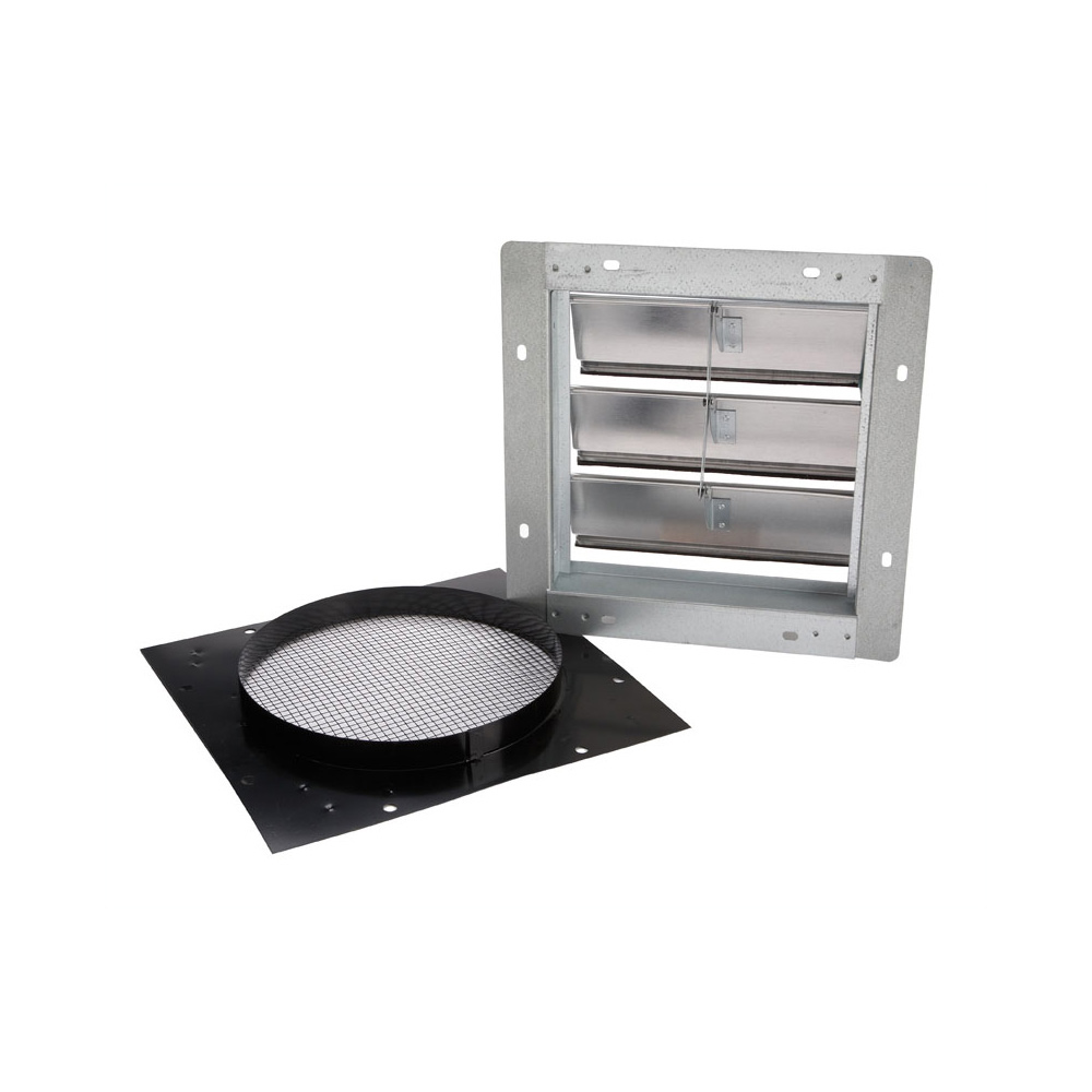 """Kitchen Exhaust Vent Wall Cap: Broan NuTone 441 10"""" Round Duct Wall Cap With"""