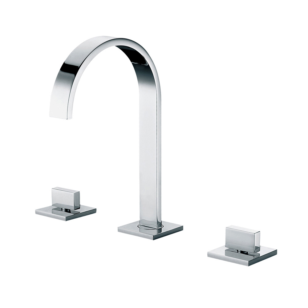 Bath4All - ALFI Brand AB1336-PC Polished Chrome Gooseneck Widespread ...
