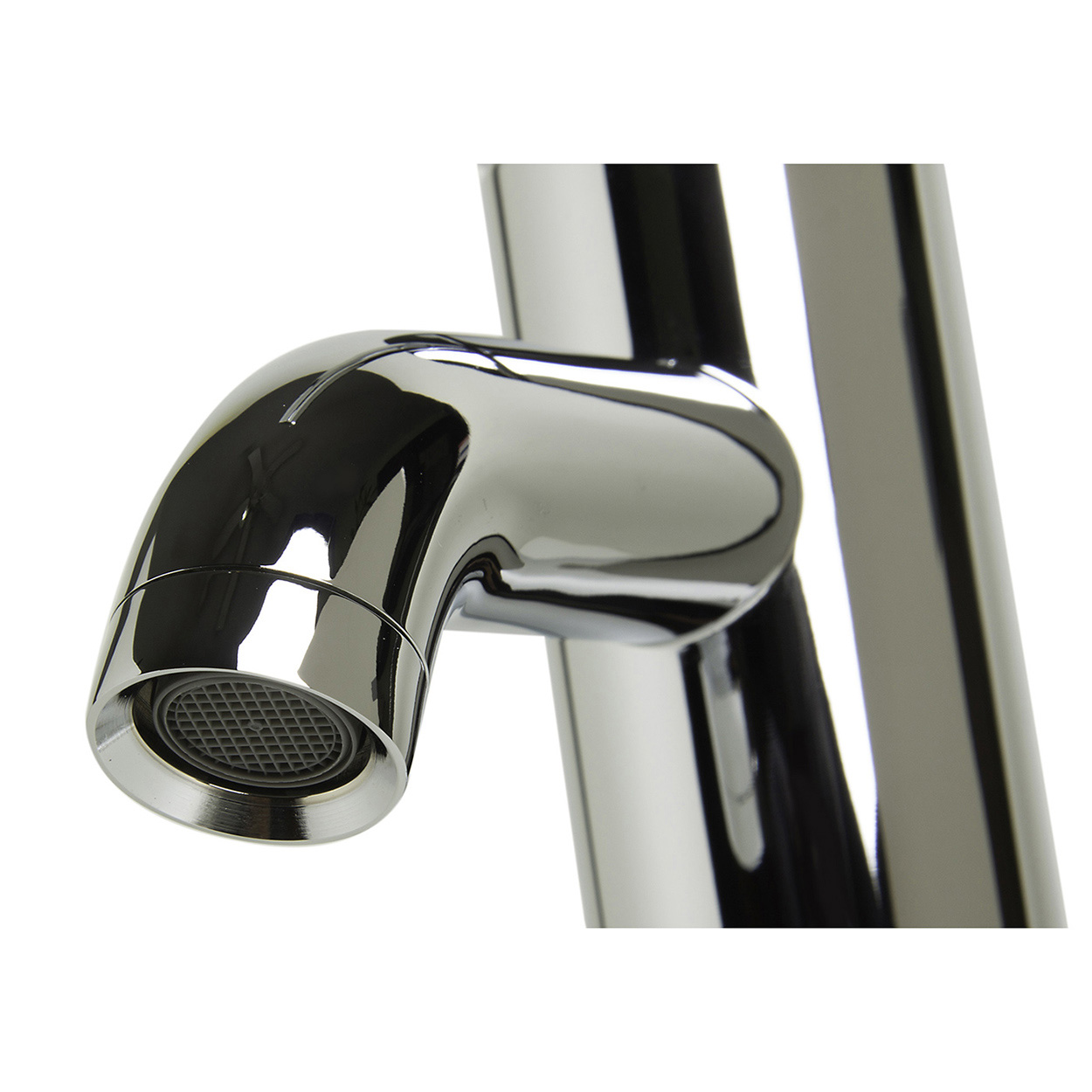 Bath4all Alfi Brand Ab1433 Polished Chrome Single Lever Bathroom Faucet