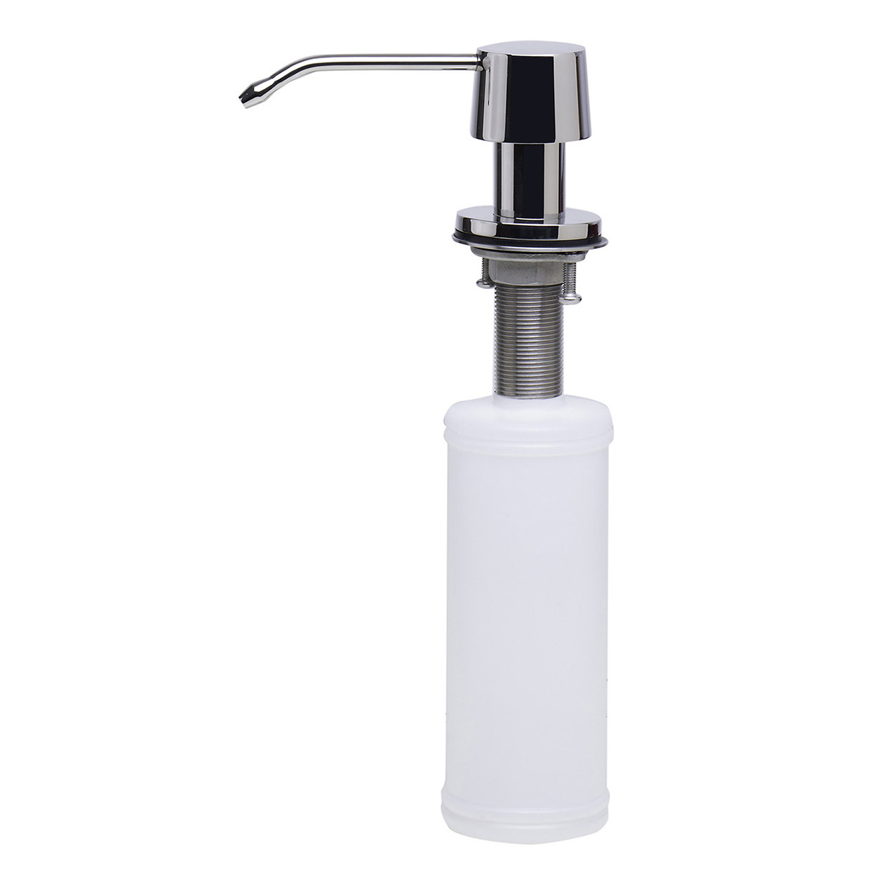 Bath4all Alfi Brand Ab5004 Pss Solid Polished Stainless Steel Modern Soap Dispenser