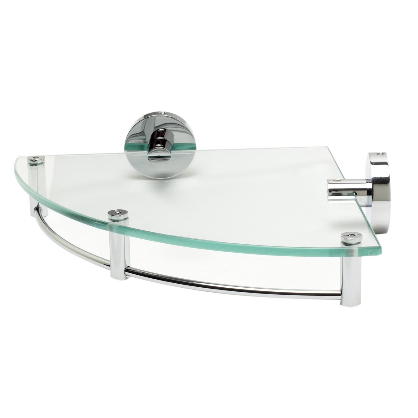 Bath4All - ALFI Brand AB9546 Polished Chrome Corner Mounted Glass ...