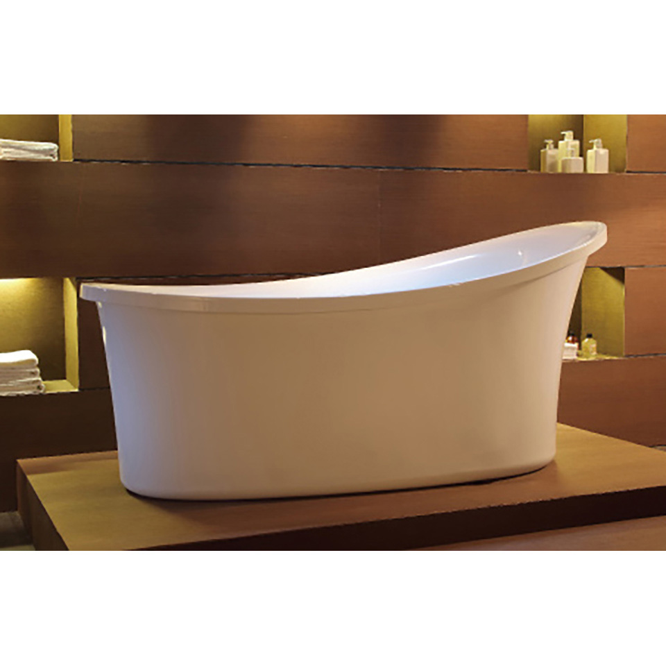 Bath4All - EAGO AM1800 6 Foot White Free Standing AirBubble Bathtub