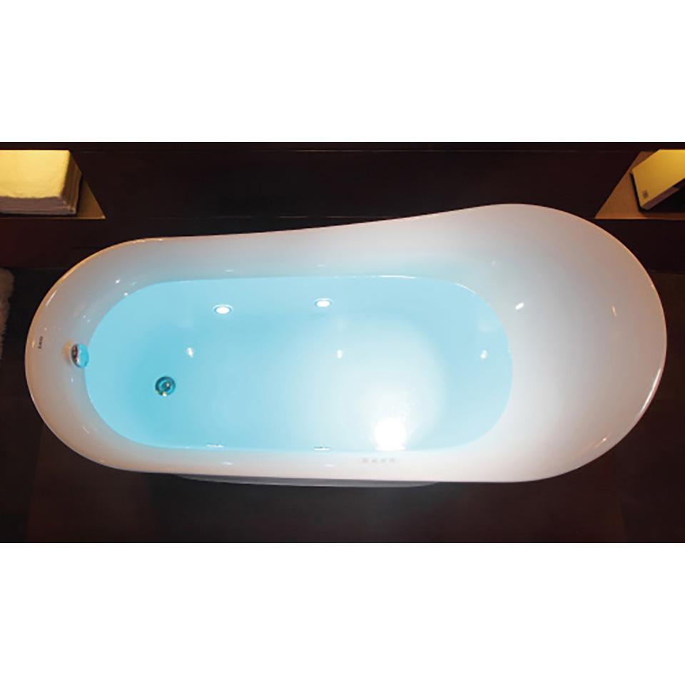 Bath4All - EAGO AM2140 6 Foot White Free Standing Air Bubble Bathtub