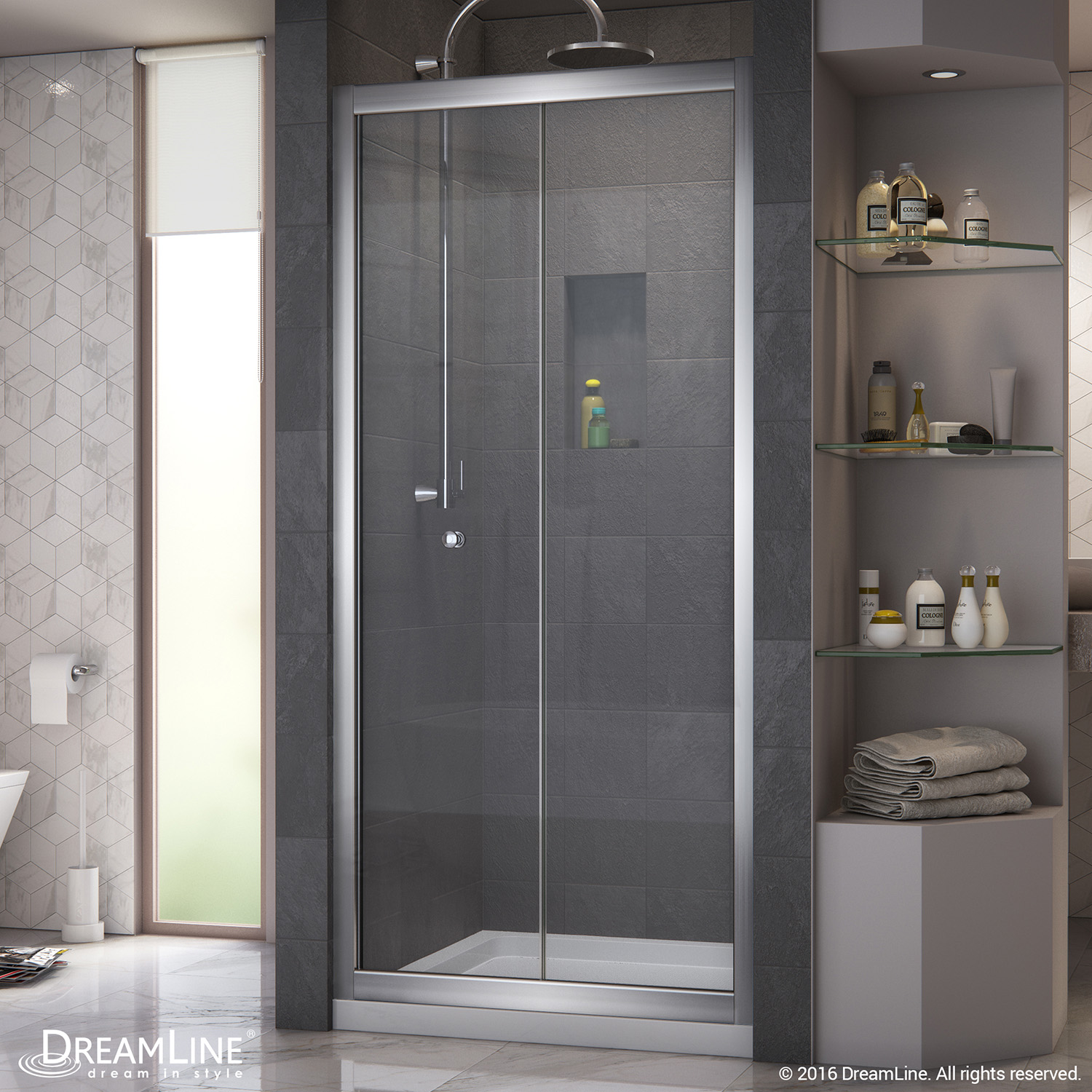 Details About Dreamline Shdr 4532726 01 Butterfly 30 31 1 2 Bi Fold Shower Door Chrome