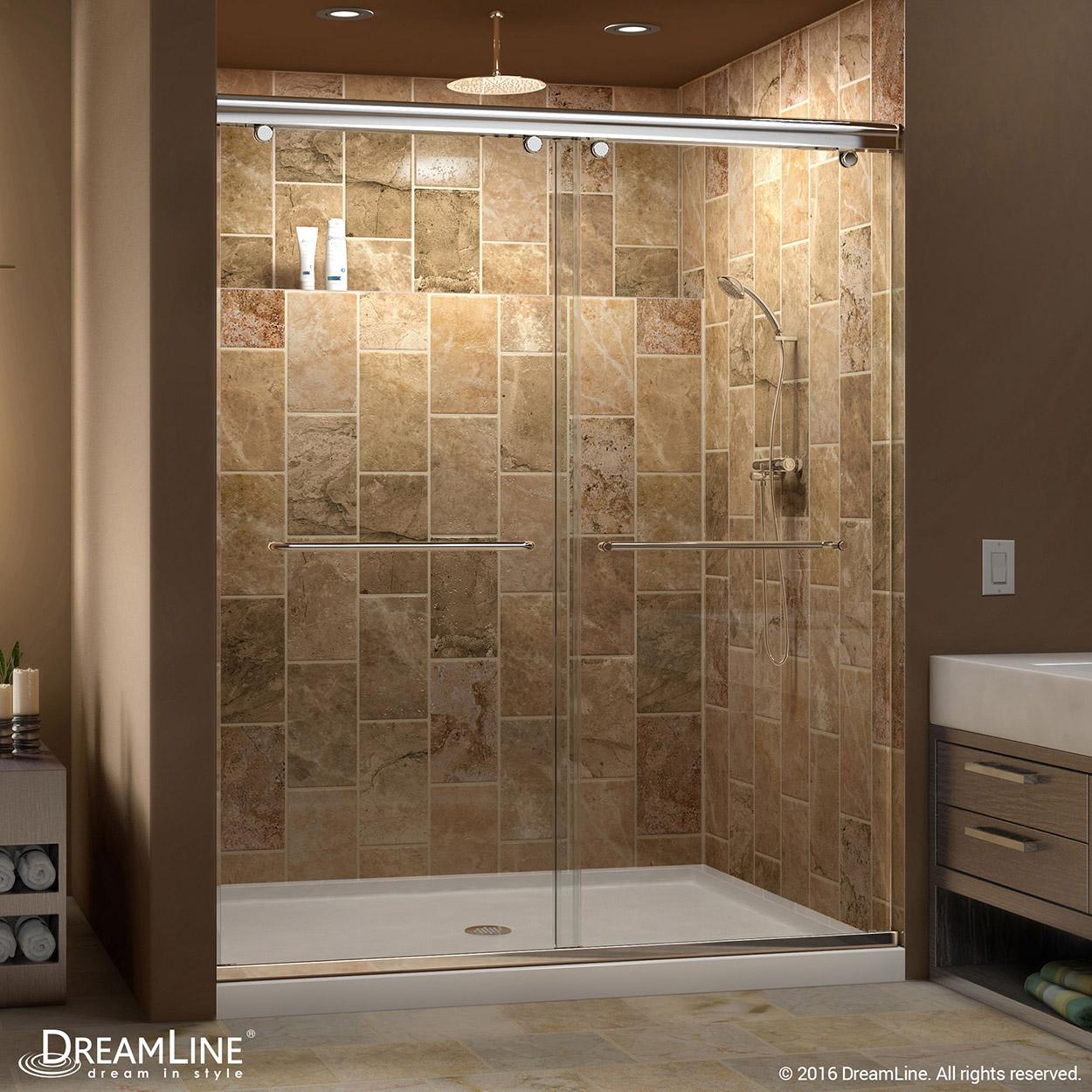 Bath4All - DreamLine DL-6943C-04CL Charisma Frameless Sliding Shower ...