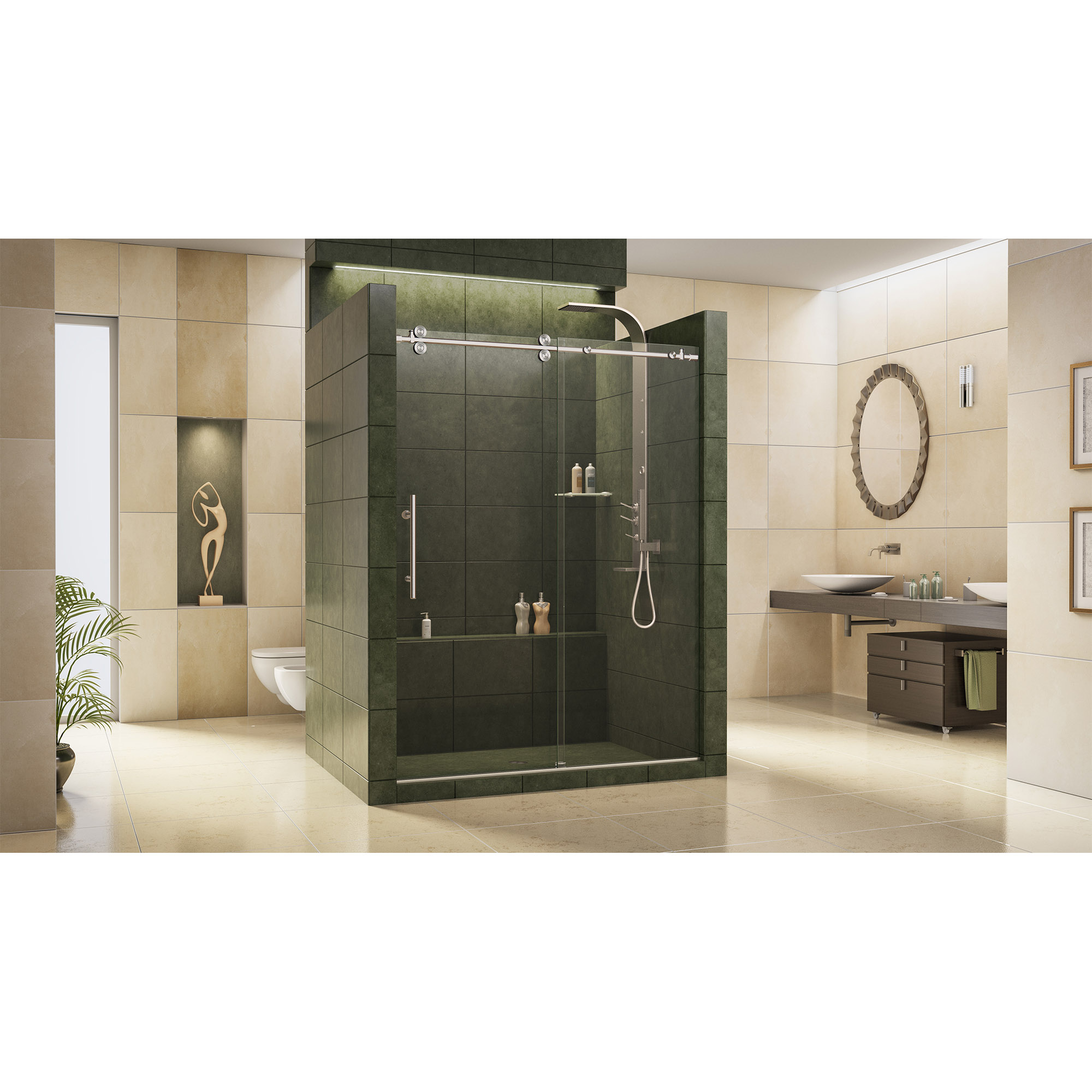 shower and showers homepage tub enigma glass door aqua dreamline doors hinged enclosures frameless