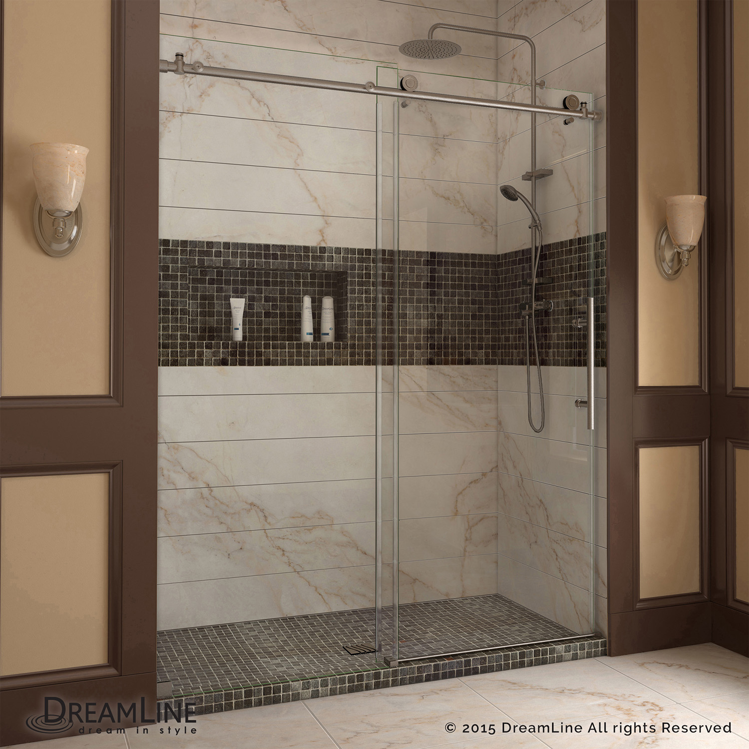 Dreamline Shdr 61487610 07 Enigma X 44 48 Sliding Shower Door Ebay