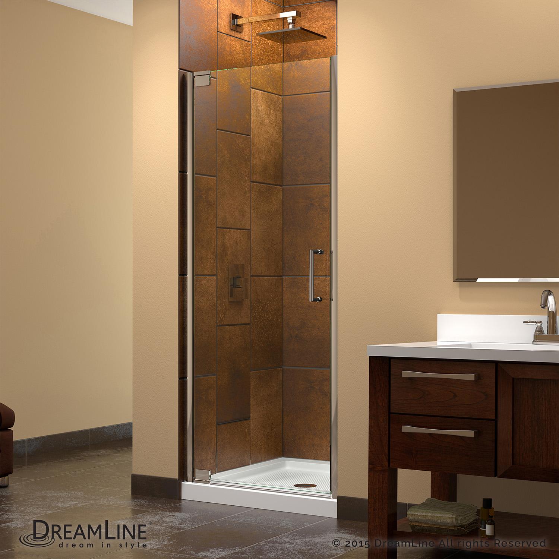 DreamLine DL-6201C-01CL Elegance Shower Door and SlimLine 36 x 36 ...