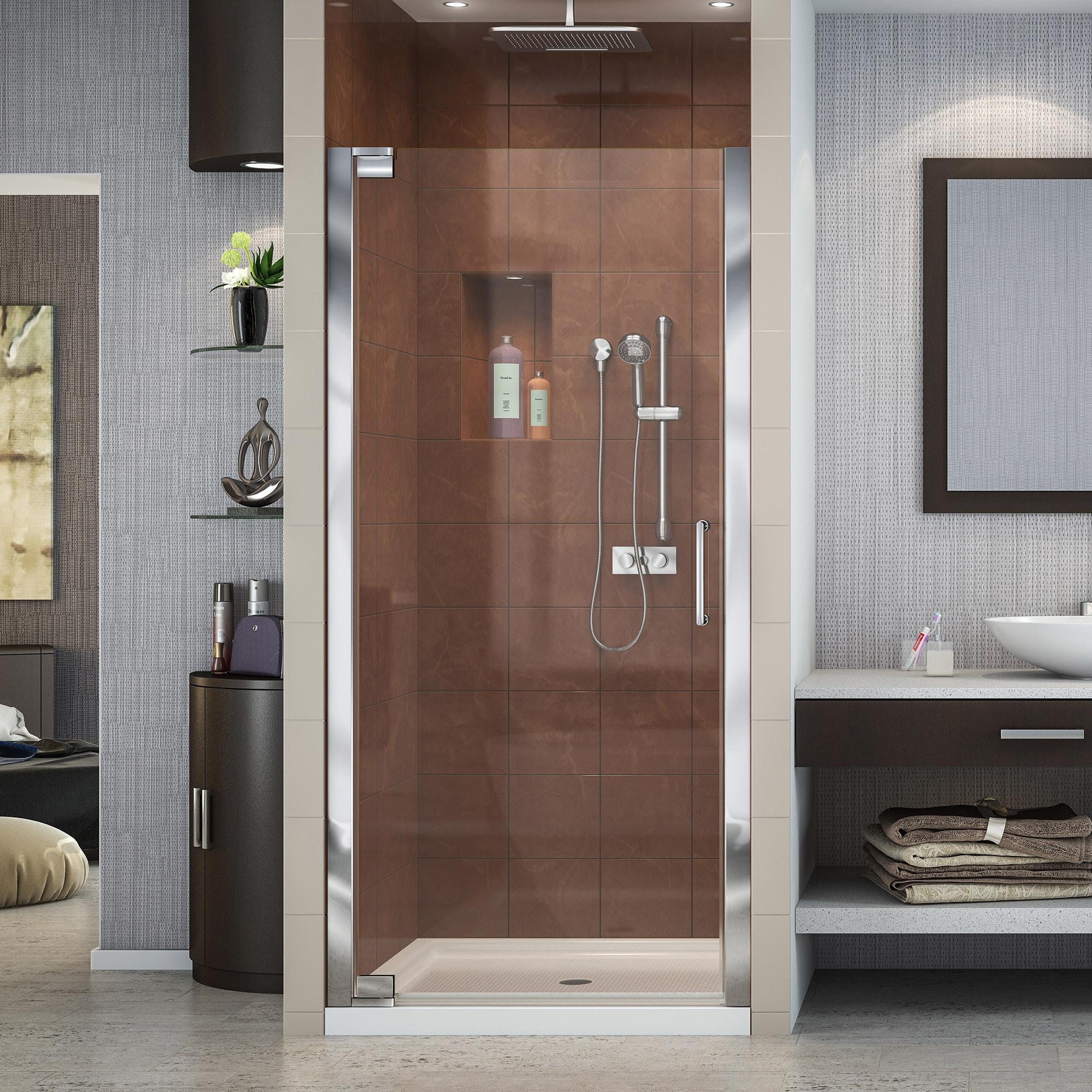 Dreamline Shdr 4134720 01 Elegance 34 To 36 Frameless Shower Door