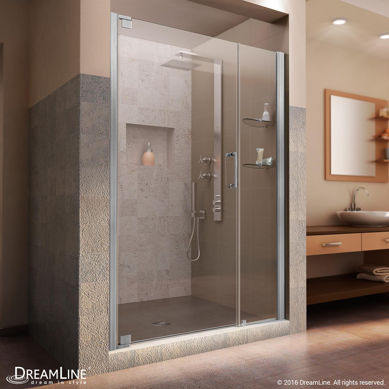 Dreamline Shdr 4146720 04 Elegance 46 To 48 Frameless Shower Door