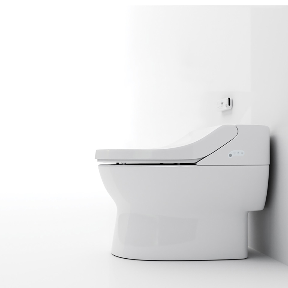 Bio Bidet IB835 Fully Integrated Bidet Toilet System, White ...