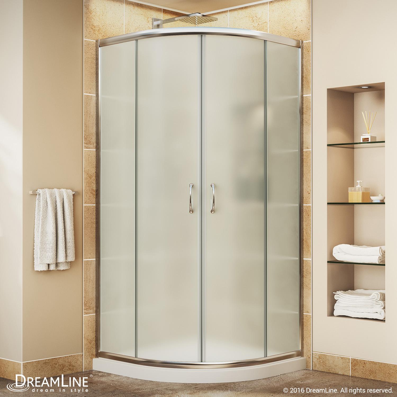 Details About Dreamline Dl 6701 01fr Prime Shower Enclosure And Slimline 33 X 33 Shower Base