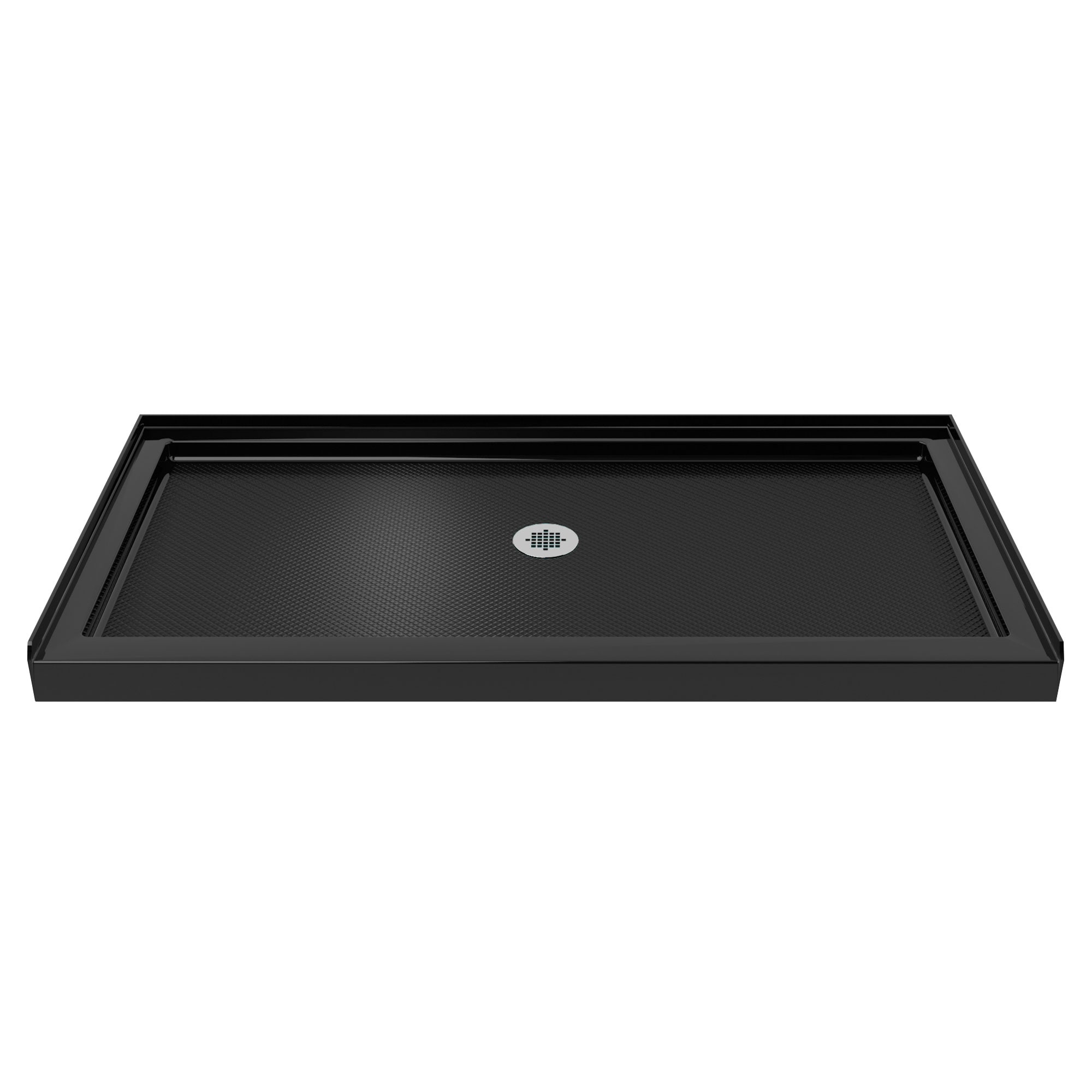 dreamline dlt 1136600 88 slimline 36 x 60 shower base in black center drain ebay. Black Bedroom Furniture Sets. Home Design Ideas