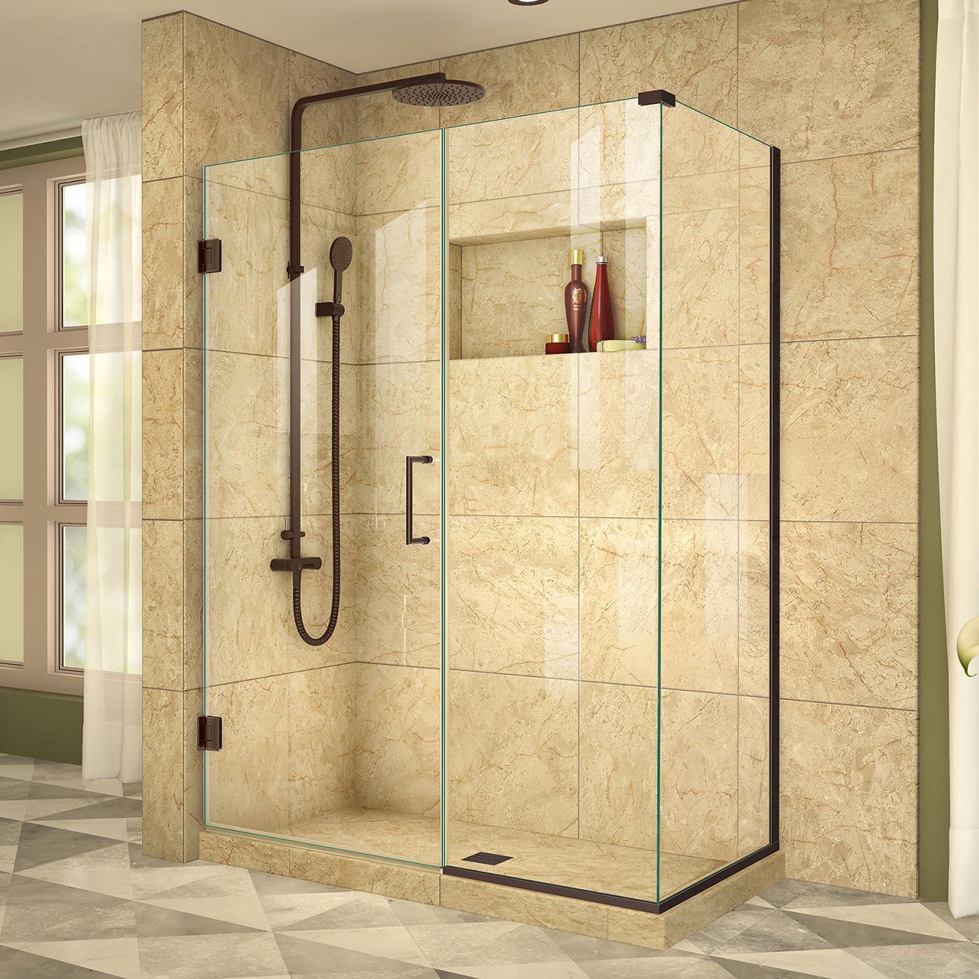 Dreamline Shen 24460340 06 Unidoor Plus 46 X 34 Shower Enclosure