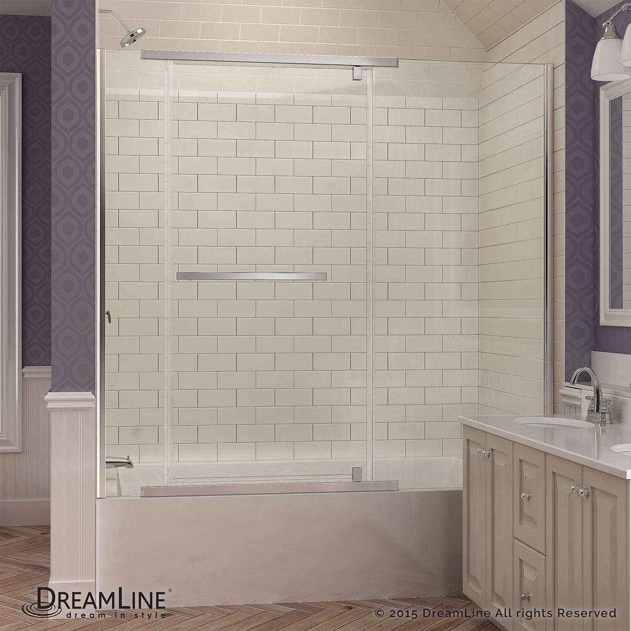 Bath4All - DreamLine SHDR-2158580-01 Vitreo-X 58 to 58-3/4\