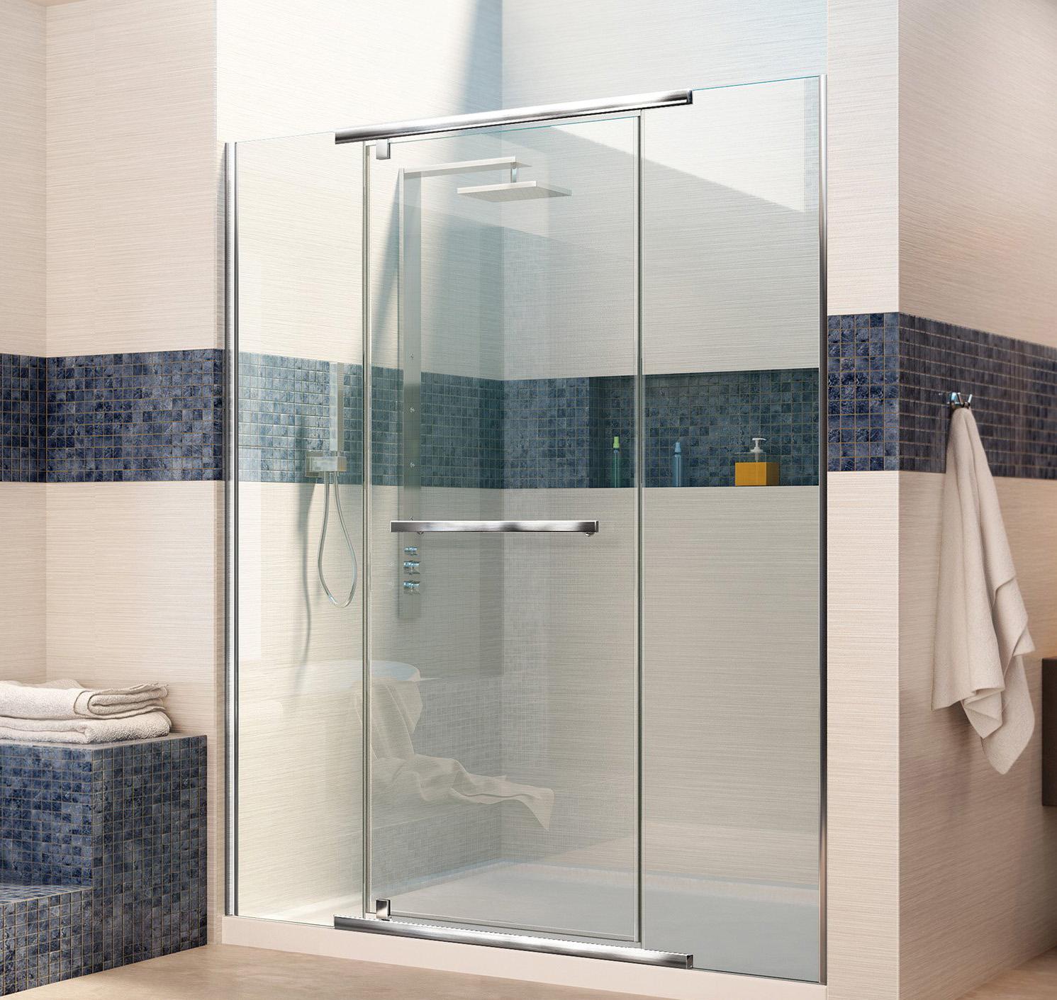 Bath4all Dreamline Dl 6448r 01cl Vitreo X Frameless Shower Door