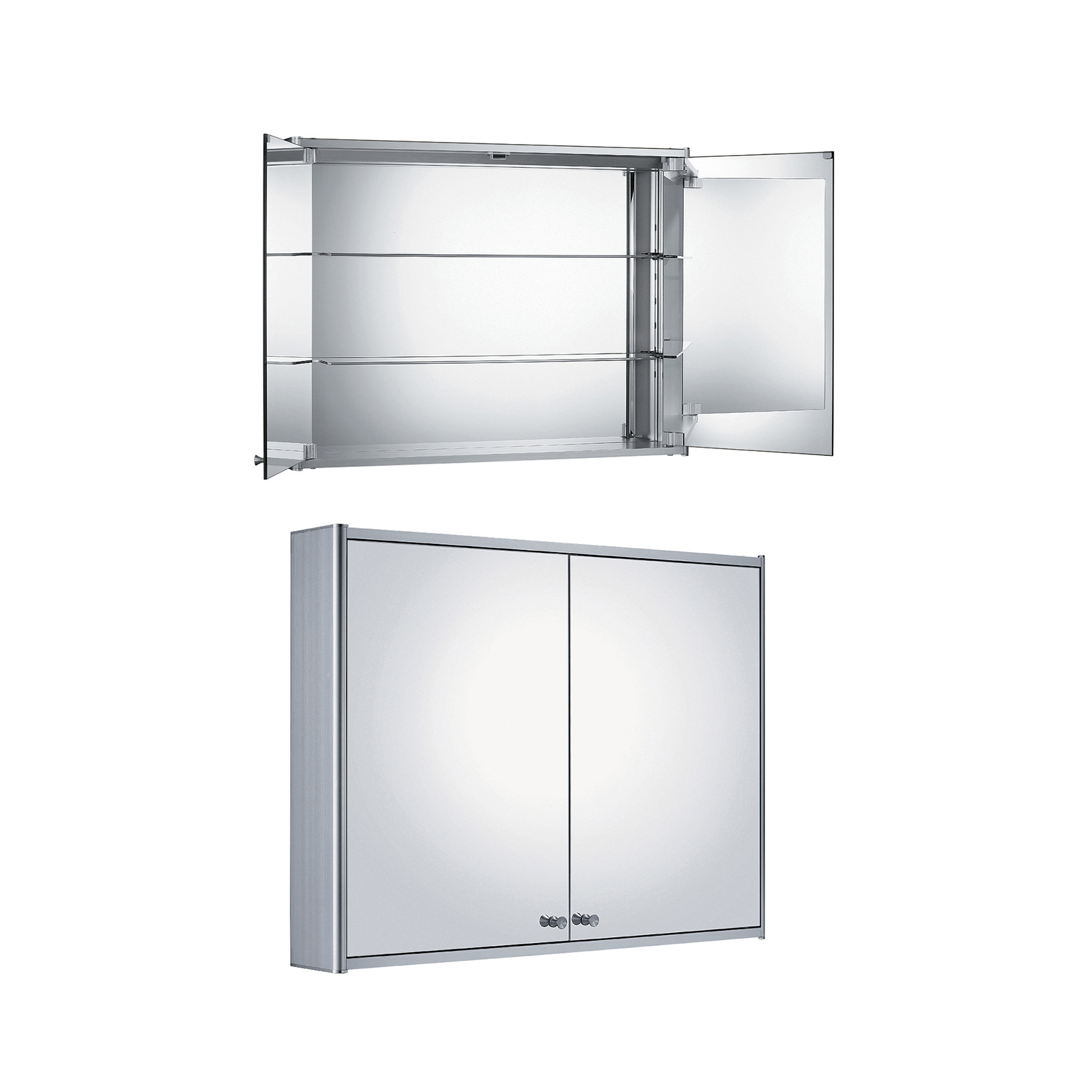 Bath4all Whitehaus Whcar 48 Double Two Sided Mirrored Door