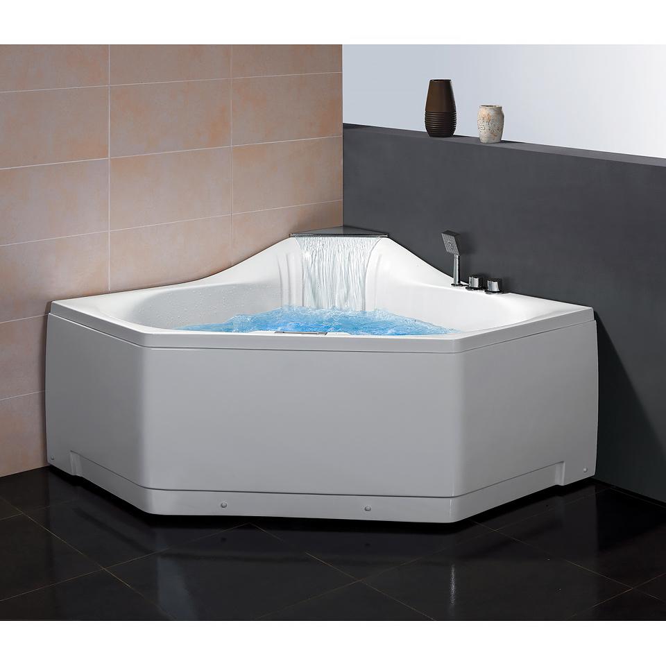 Bath4All - ARIEL Platinum AM168 Whirlpool Bathtub, SKU: AM168JDTSZ