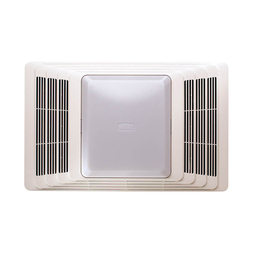 Bath4all broan nutone 659 white 50 cfm 2 5 sone ceiling - Ceiling mounted bathroom heaters ...
