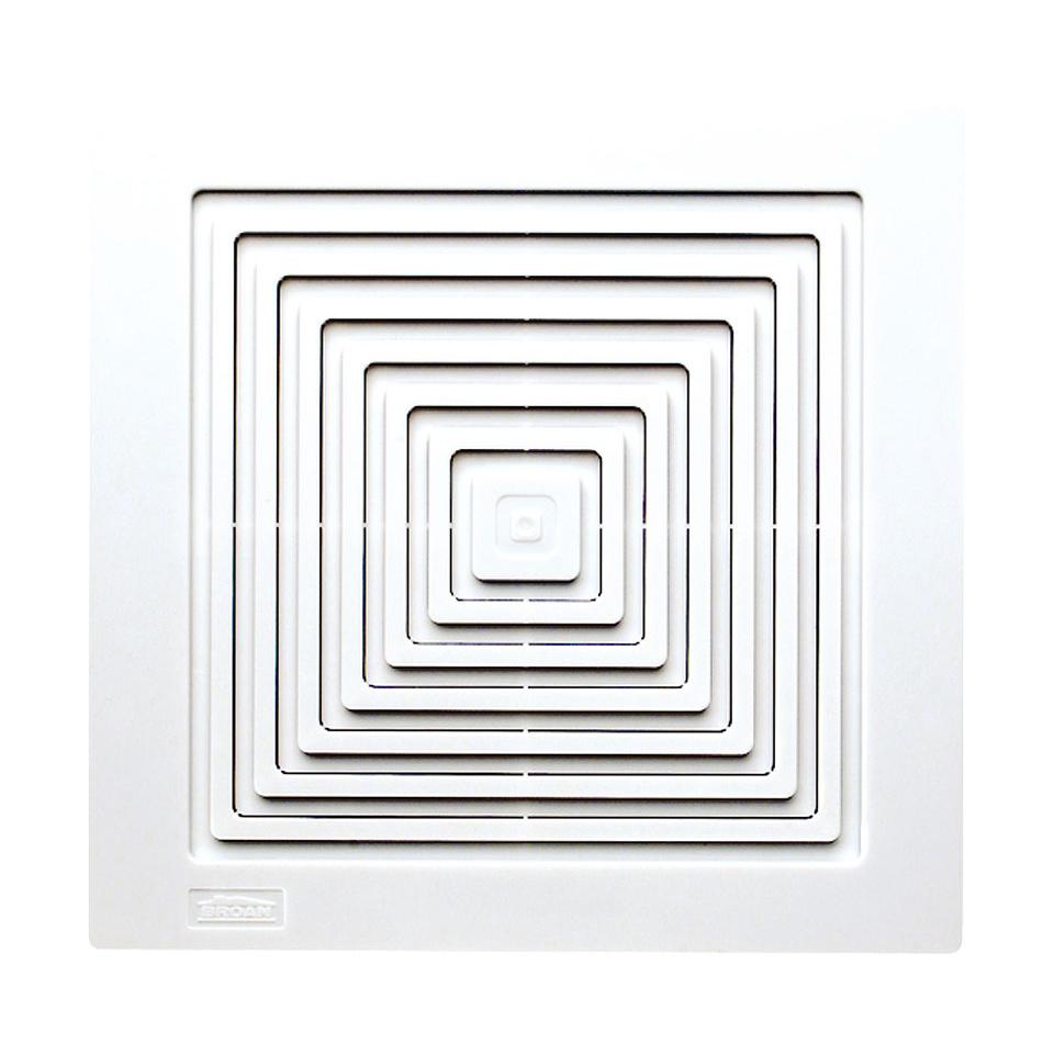 Broan NuTone 670 White 50 CFM 3.5 Sone Ceiling Or Wall Mounted Bath Fan