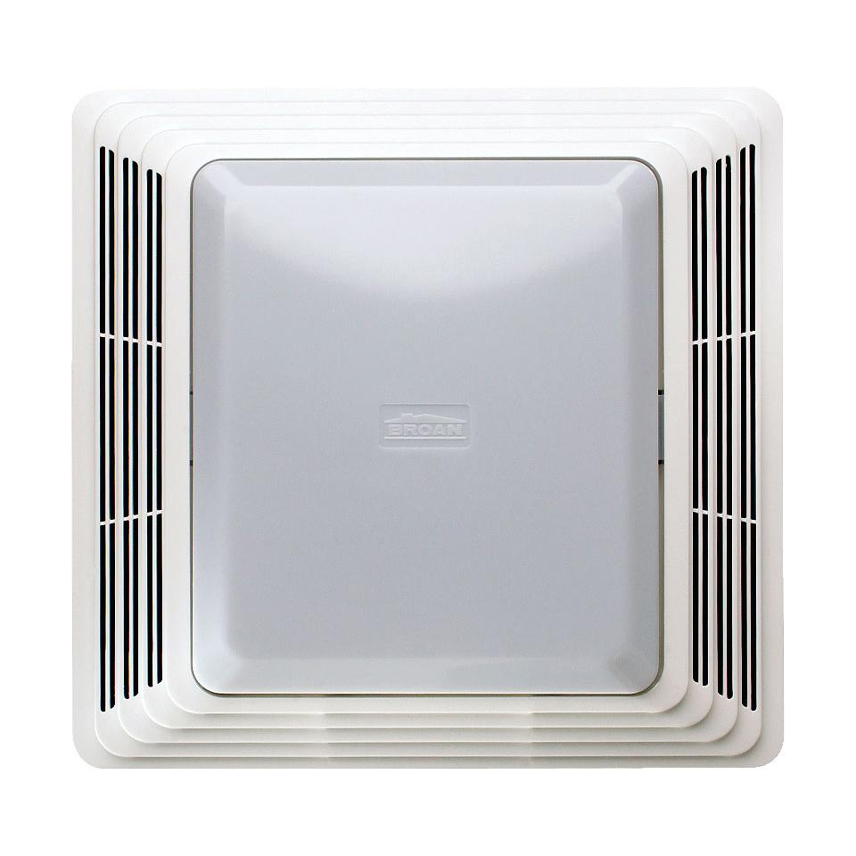Broan Ceiling Exhaust Bath Fan 50 Cfm With Light Bathroom: Broan NuTone 678 White 50 CFM 2.5 Sone Ceiling
