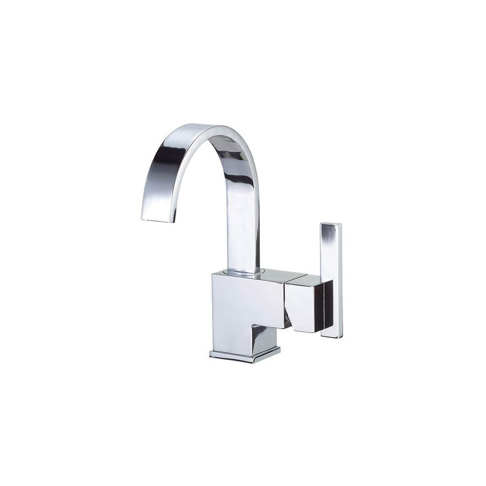Bath4All - Danze D221544 Chrome Single Hole Bathroom Faucet, Sirius ...