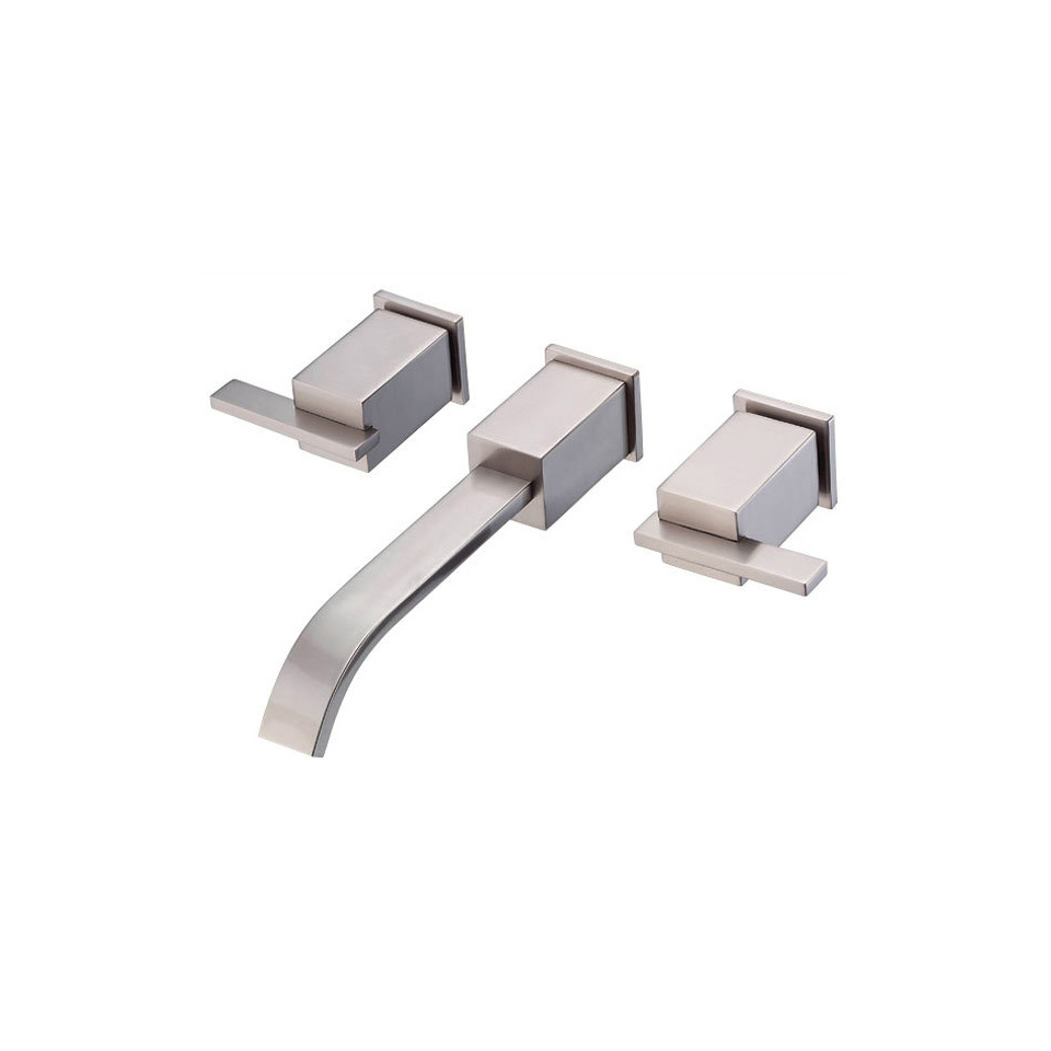 Bath4All - Danze D316244BNT Brushed Nickel Wall Mounted Bathroom ...