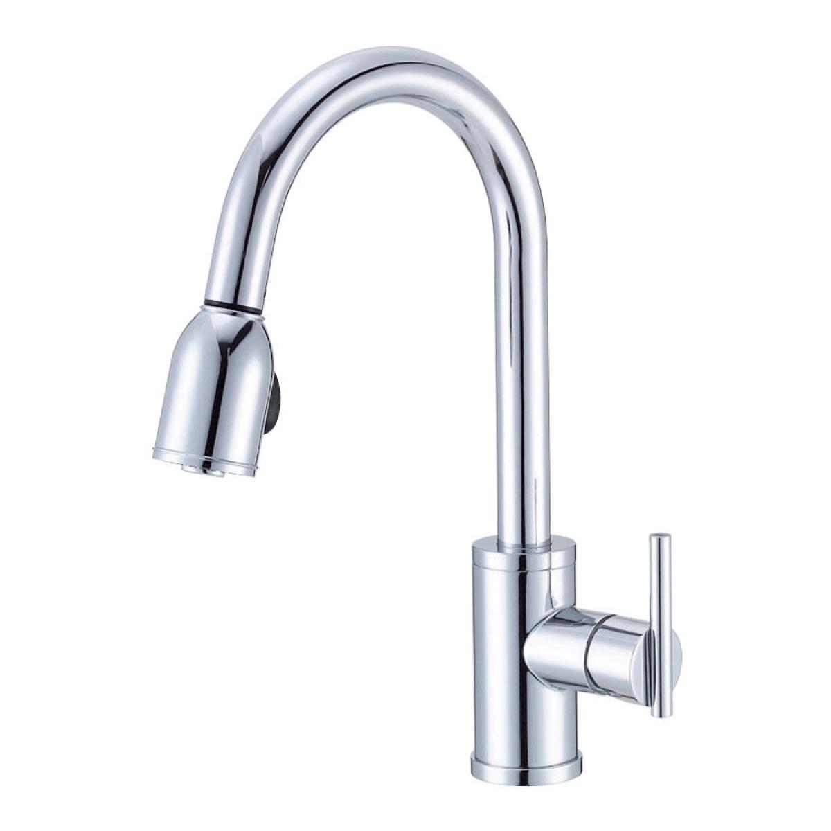 Bath4All - Danze D457058 Chrome Pull Down Spray Kitchen ...