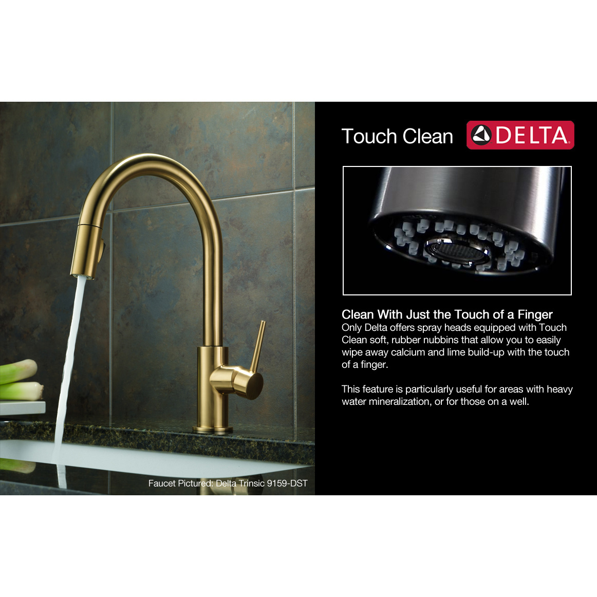 Bath4All - Delta 16970-sd-dst Kate Pullout Spray Kitchen Faucet with ...