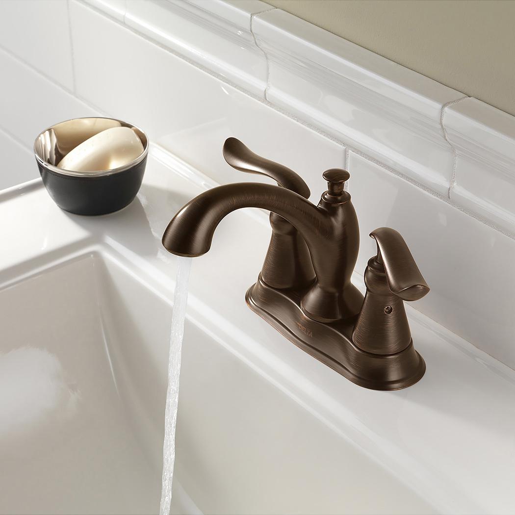 Bath4All - Delta 2594-mpu-dst Linden Centerset Bathroom Faucet with ...