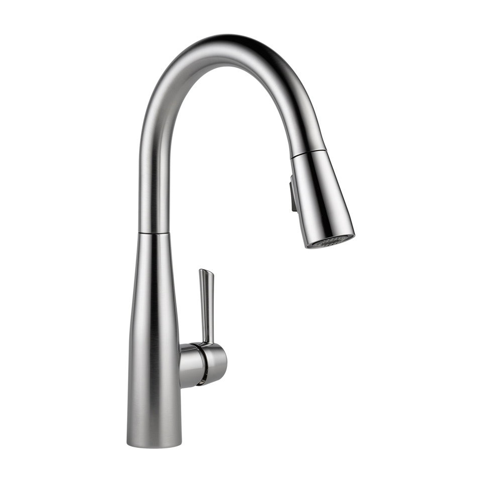Bath4All - Delta 9113-BL-DST Essa Pull-Down Kitchen Faucet with ...